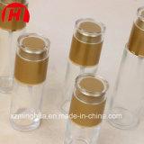 Frasco de vidro da bomba cosmética da loção do óleo do corpo