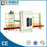 自動PLCの縦のガラスサンドブラスティング/砂吹き機械