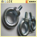 Boulons d'oeil de levage élevés de l'acier DIN580 de C15e Qualitygalvanized
