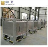 1000L Plaza líquido del depósito de IBC con camisa de refrigeración