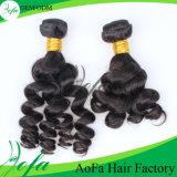 海洋波の人間のRemyの毛の拡張人間の毛髪の織り方