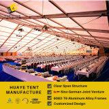 tenten van de Markttent van 50X60m de Grote met de Muren van het Glas