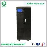 15kw 20kw 30kw 50kw invertitore di energia solare di 3 fasi con la visualizzazione dell'affissione a cristalli liquidi