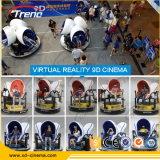 Realidad virtual Vr 3D de Vr de la edición del receptor de cabeza 3D Google del montaje plástico de cristal de la pista