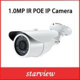 1.0MP Gewehrkugel-Netz CCTV-Überwachungskamera IP-Poe wasserdichte IR