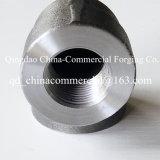 Alliage d'acier soudés en acier forgé transtypé coude de raccords de tuyaux