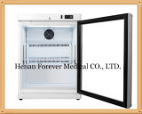 2-8 Degree Medical Vaccinates Refrigerator with Glass Door