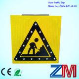 도로 안전을%s 태양 교통 표지/LED 번쩍이는 도로 표지