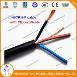 Cavo inguainato CBE di rame flessibile dell'isolamento di Epr del conduttore del cavo di H07rnf H05rnf H07rrf H07rrf con il certificato del Ce