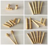 Bâton de bois personnalisé Craft Stick Stick bâton pointu ronde avec logo personnalisé
