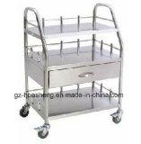 Chariot à cuisine d'acier inoxydable d'hôtel (HS-046)