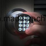 열쇠가 없는 전자 키패드 자물쇠, 조정가능한 래치 역행 2 3/8 인치에서 2 3/4 인치