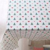 Tablecloth e guardanapo do Natal do feriado de Cottn