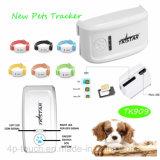 Newest Mini GPS tracker pour chat/chien avec collier Multi-Color TK909