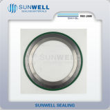 316 (L) Spiral Graphite cgi Wound Gaskets with Inner and Outer Boxing ring (SUNWELL)