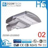 lampada di via di 100W IP66 LED con 3030 2D LED poco costosi