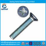 """Viti di macchina cape placcate zinco blu del acciaio al carbonio DIN965 """"phillips"""" Csk"""