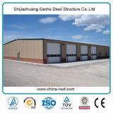 産業小屋のための中国の低価格の鉄骨構造フレームのプレハブの家
