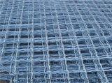 법원 담이 녹색 PVC 입히는 체인 연결 농구장 담에 의하여, 다이아몬드 구멍 철망사