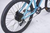Bicicletta di alluminio della montagna di Elelctric della batteria di litio della lega