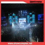 P6.25 Équipement musical de la location de scène intérieure Écran LED pour le fond de scène