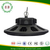 100-250W IP65 Industrial LED Light UFO High Bay avec Meanwell Driver