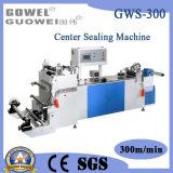 Centrum dat Plastic Zak verzegelt die Machine (gws-300) maakt