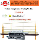Vertikale Gerade (YD-BM-10) Glasabschrägenrad-Glas-Maschine des rand-10