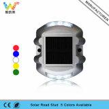 White Color 3m Réflecteur Solar Power Cat Eye Aluminum Road Marker