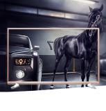 China LED TV de ecrã plano de marca do televisor wide screen