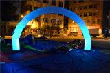 Barato anunciando o arco inflável da iluminação para a mostra