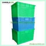 Food Grade Agricultura Granja ventilada de almacenamiento de cajas apilables para hortalizas