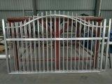 Алюминиевых и стальных дверей коммерческий вид в разрезе двери / Store передней решетки безопасности/гаражных ворот на решетке