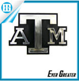 Plastic personalizado Badge Emblems Sticker 3D Metal Car Auto 3D Alloy Badge