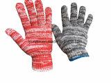 Безопасность рабочей руки защитные перчатки из хлопка в смеси цвета