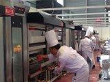 3 Schicht, 12 Wannen-stapelbarer Gas-Ofen, Bäckerei-Gerät des Pizza-Ofen-(CER)
