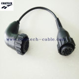 OBD1 16p Male a OBD 1 16p 90 - Degree Bend Cable