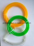 PVC明確な透過適用範囲が広く水平な配水管のホース