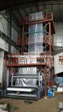 Трехслойная коэкструзии выдува пленки машина с IBC системы и автоматической рулонной Changer