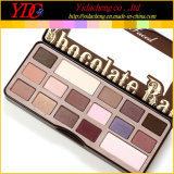 Het heet zag Verkopen van 16 Kleuren ook het Palet van de Oogschaduw van de Make-up van de Chocoladereep onder ogen