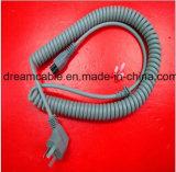 шнур питания спирали утверждения 1.5m CCC китайский с IEC C5