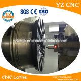 合金の車輪の旋盤CNC機械修理車輪の縁