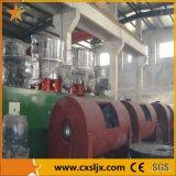 Horizontal de PVC de alta velocidade de mistura quente e frio