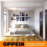 Beëindigt de Moderne Spiegel van de Fabrikant van Guangzhou de Houten In het groot Garderobe van de Slaapkamer HPL
