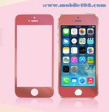 De rode Aangemaakte Beschermer van het Scherm van het Glas voor de Mobiele Telefoon van iPhone