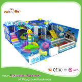 Цветастые крытые игрушки спортивной площадки с скольжениями для малышей