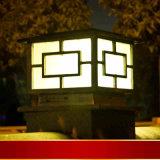 Nouveau design original Post solaire lumière avec puce Bridgelux