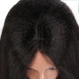 150% плотность кружева передней человеческого волоса парики пред Plucked