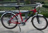 リチウム電池(TDE-015)が付いているアルミニウムフレームの電気バイク