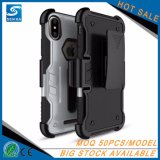 Neue Feld-Mann-abnehmbarer Riemen-Klipp-Pistolenhalfter-Handy-Fall für Samsung-Galaxie-Anmerkung 8